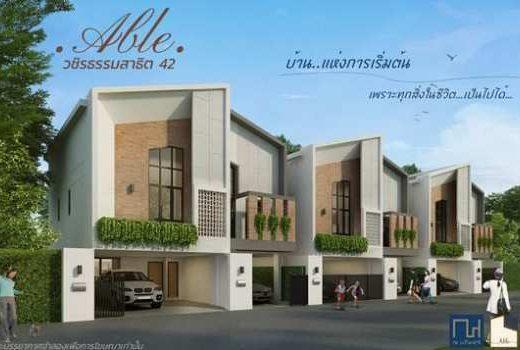 ขายบ้านเดี่ยว Able วชิรธรรมสาธิต 42 (สุขุมวิท 101/1) บ้านเดี่ยวโครงการใหม่ใจกลางเมือง