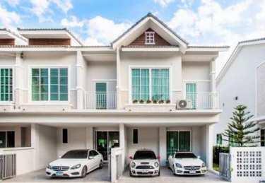 บ้านแฝด & พรีเมี่ยมทาวน์โฮม เดอะริชบางแสน The Rich Bangsaen ทำเลคุณภาพบน ถ.ข้าวหลาม-บางแสน