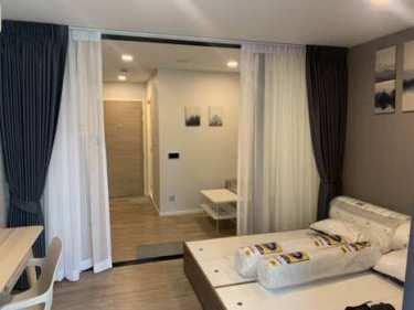 [ให้เช่า] คอนโด Kave Town Space 1 Bedroom Extra 27.3 ตรม 1 ห้องนอน 1 ห้องน้ำ ชั้น 1 ตึก B